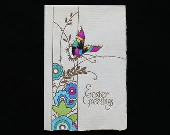 Vintage Easter Card, Antique Easter Card, 1920s Easter Card, Vintage Easter Friendship Card, Vintage Secret Sister Easter Card, Easter Card
