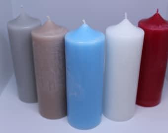 Handmade Pillar Candles