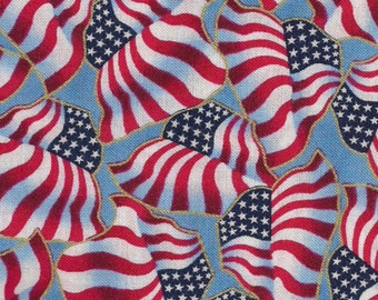 Patriotic Pop fabric by Quilting Treasures