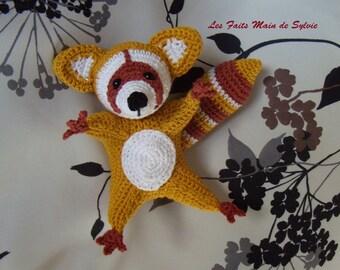 Raccoon crochet