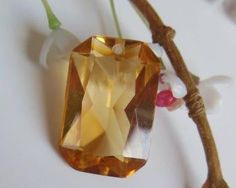 pretty rectangular pendant plastic