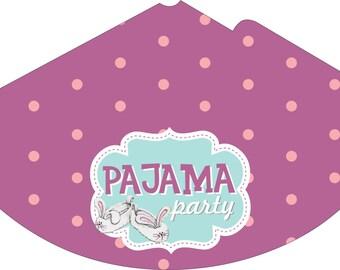 Колпак Пижамная вечеринка/Pajama Party Cone Hat Pajama Party