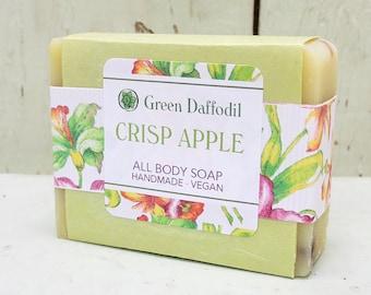 Crisp Apple Bar of Soap - Green Daffodil