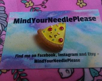 Cute little Pizza Needle Minder
