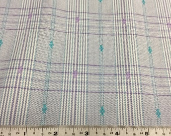 Plaid Apparel Fabric by the yard