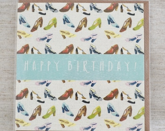 Shoe Lover Birthday Card
