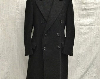 Chesterfield 1930-1940 THE PEAKY BLENDER coat coat double breasted t.42