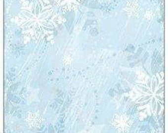 Winter Frost sticky notes pad