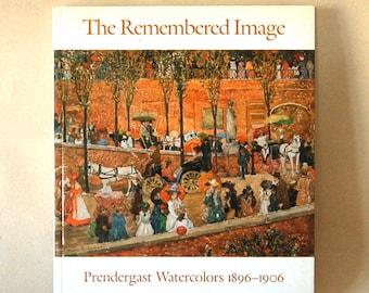 Vintage Prendergast  Watercolors Art Book, Paperback Full of Fabulous Color Prints