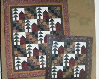 Fall Trail Quilt Pattern by Hingeley Road Quilt Designs