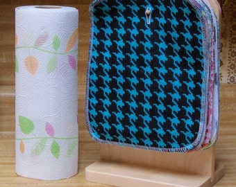 10 Reusable Kitchen Wipes, 8 inch by 10 inch, reusable paper towels, kitchen cloth