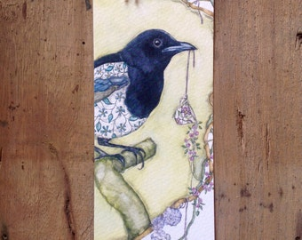 Book mark magpie
