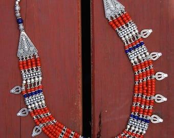 Humla tribal tibetan necklace.