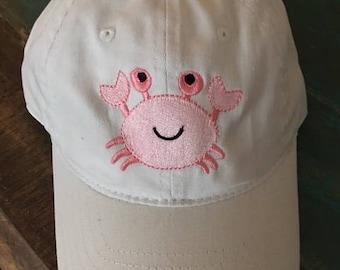 Preppy Crab Ball Cap