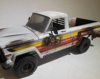 ScaleModel,Jeep Truck,JunkYard,RustedWreck,RatRod,BarnFind,OOAK