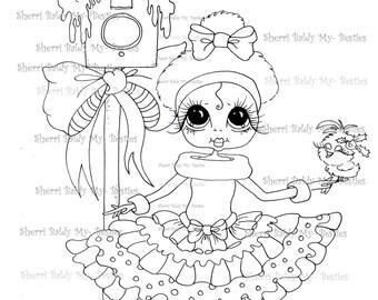 SOFORTIGER DOWNLOAD Digi Stamps Big Eye Großkopf Dolls Digi Bestie IMG950 von Sherri Baldy