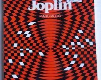Vintage Music Book - Scott Joplin Piano Music Carl Fischer 1985