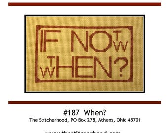 PDF E pattern emailed Inspiration for Procrastination Cross Stitch Pattern Sampler 187