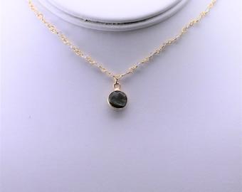 Labradorite Necklace. Listing 583352800