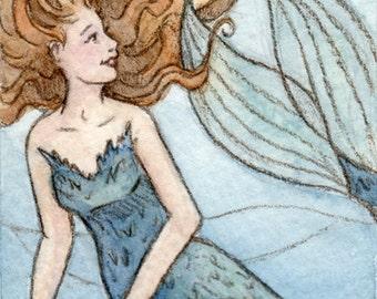 ACEO-Mermaid (Print)