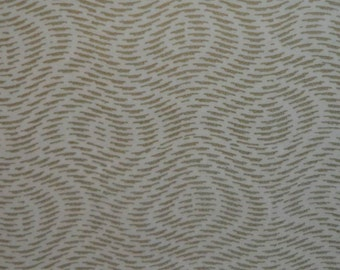 Vintage 1960s Gift Wrap Gold Moire Print All Occasion Wrapping Paper- 1 Sheet