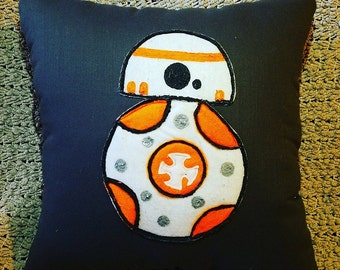 BB8 Pillow Star Wars Model #2