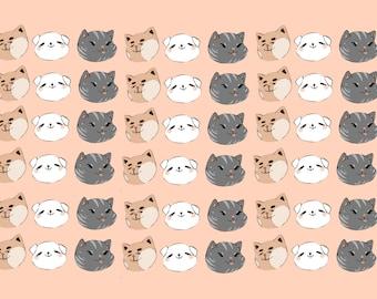 Cute cat prints