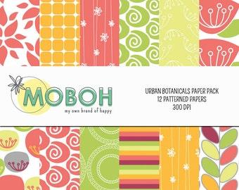 Urban Botanicals Paper Pack