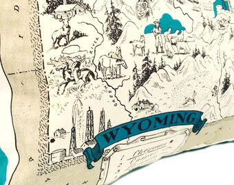 Wyoming Pillow Cover with Insert