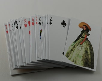 Gone with the Wind, Gone with the Wind Playing Cards, Gone with the Wind theme,custom playing cards, Personalized Playing Cards, party favor