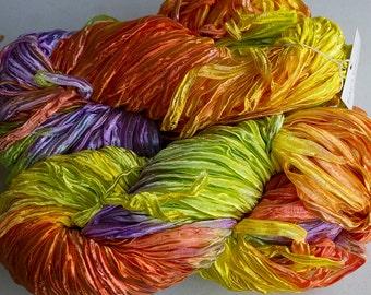 Party, Hand dyed ribbon yarn - Tex Mex, nylon 395 yds