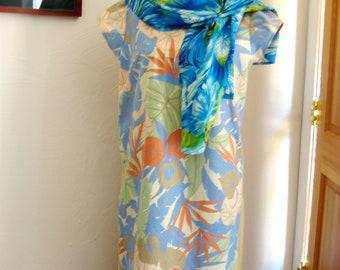 Dress or Tunic Top for Women, Tropical Fantasy Tunic for Women