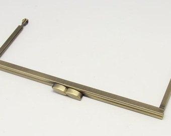 1 PC Retro Antique Bronze Metal Purse Frame /Handle Purse Frame 17*7.5cm (6.7*2.9 inch) E274