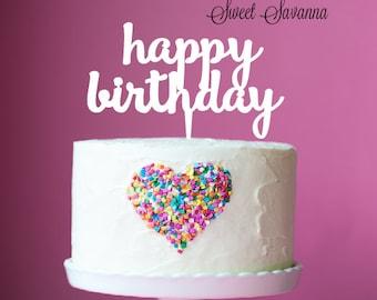 Happy Birthday Cake Topper N3 MADE IN AUSTRALIA