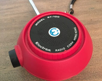 Vintage Electra Radio Corp. Model RT-100 Walkie Talkie