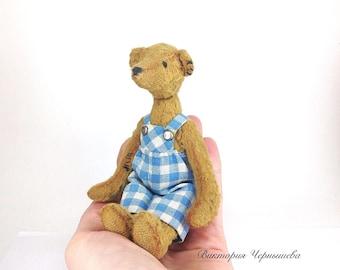 OOAK artist teddy bear ,Miniature Bear ,Teddy Bear