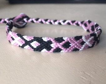 Friendship Bracelet, Embroidery Floss Bracelet, Braided Bracelet