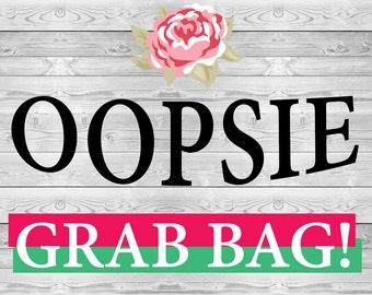 Oopsie Grab Bag Sticker for Erin Condren Lifeplanner!