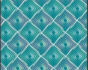 SALE 1 Yard Poetica Heartbeats Cool by Pat Bravo for Art Gallery Fabrics
