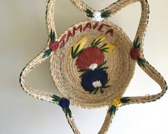 Beautiful vintage basket from Jamaica