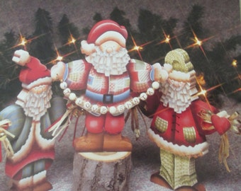 """K Vintage Tole painting """" Holiday Expressions"""" 1992 used booklet 40  pages"""