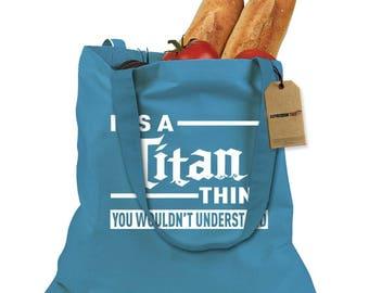 It's A Titan Thing Shopping Tote Bag