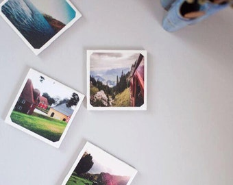 Photo Coaster Set