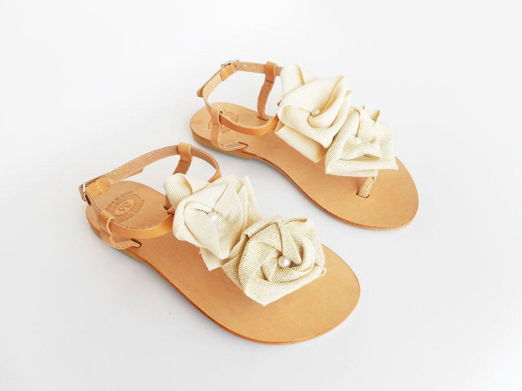 s Ivoire, mariées sandales, sandales de mariage, mariage, mariage, demoiselle d'honneur sandales, sandales en cuir, sandales grecques, sandales Champagne, mariage rustique daa6d8