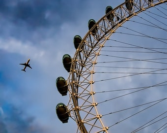 Eye in the Sky, London - Fine Art - Wall Art - Inquire about Size & Frame Options