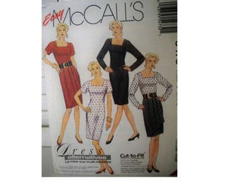 McCall's 5473 Dress Pattern - Uncut