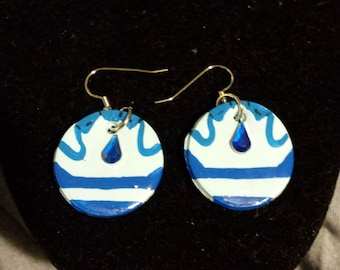 Lapis Lazuli Steven Universe Earrings