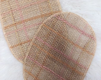 Vintage Woven Chargers / Vintage Woven Placemats / Vintage Wall Baskets / wicker placemats / wicker chargers