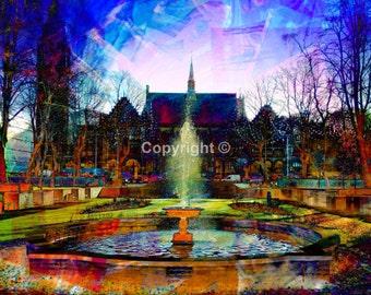 Rochdale Memorial Gardens - Print Run of 100