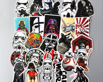 24 Very Cool Styling Star Wars stickers decals - sticker pack - sticker laptop - sticker pack - sticker bike (005)